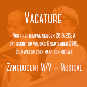 Vacature Zangdocent (M/V)