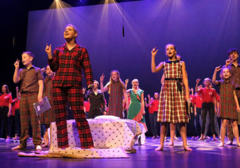 Jeugdmusical La TalenTia op Deventer Open Podium 2020 Goedemorgen Deventer