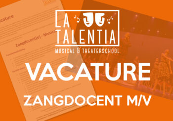 Vacature Zangdocent La TalenTia Facebook 2020